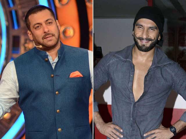 Ranveer Singh 'Did Not Take' Tips From Salman For Bajirao Mastani