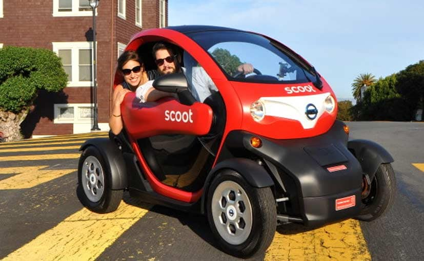 Nissan's Scoot Quad is a Re-badged Twizy