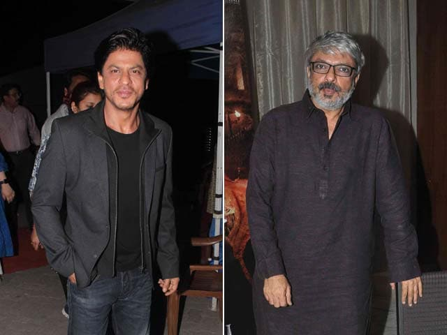SRK is a Big Star, Will Have a Good Opening Any Day, Says Bhansali