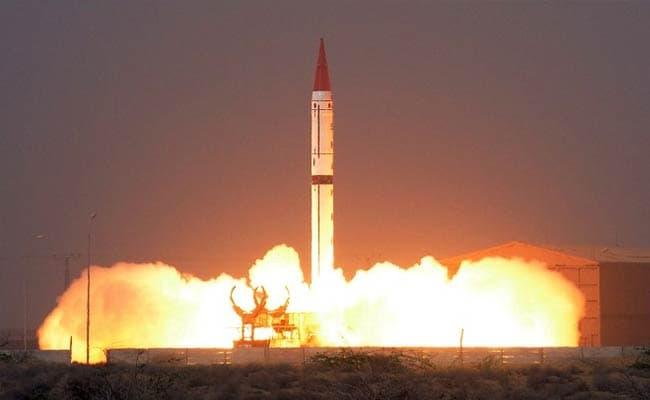 Pakistan Test-Fires Nuclear-Capable Shaheen-III Ballistic Missile