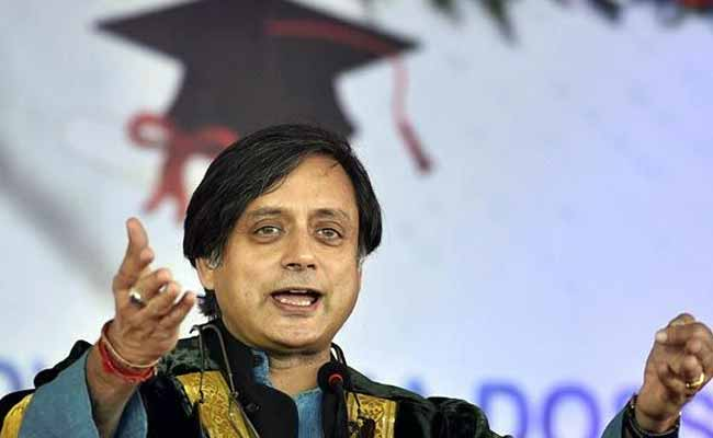 ML Khattar Should Be Sacked For 'Failure Of Governance': Shashi Tharoor