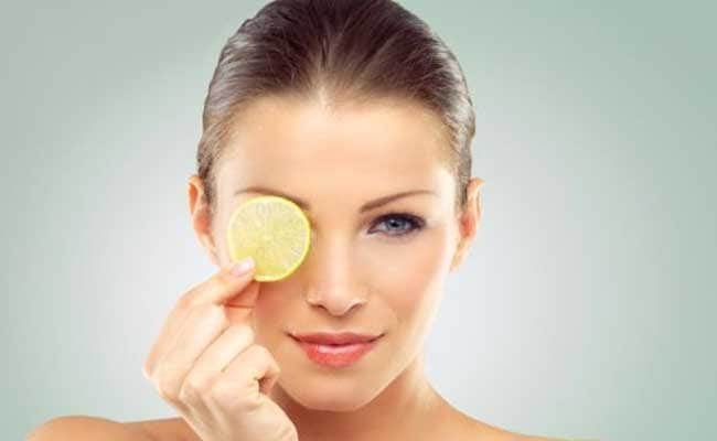 skin care lemon