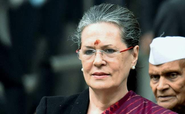 Sonia Gandhi To Address Leaders, Events On Rajiv Gandhi's Birth Anniversary Today