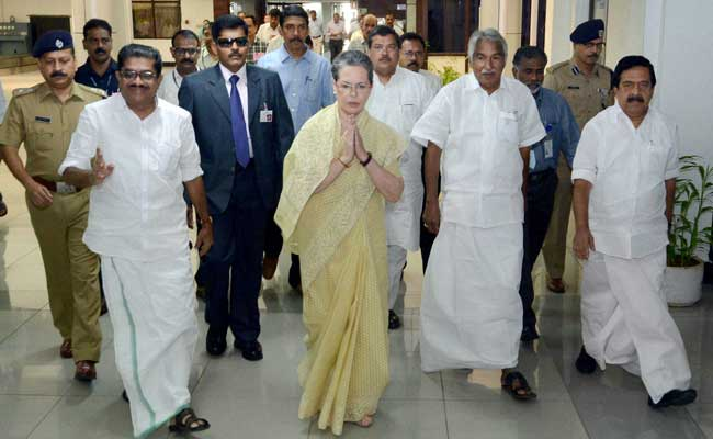 Congress Chief Sonia Gandhi Warns Against Forces Re-Writing History
