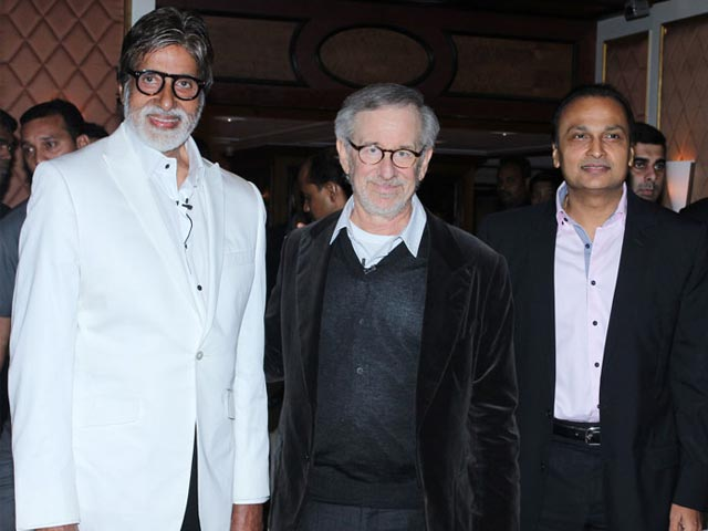 Anil Ambani, Steven Spielberg Team Up to Launch Amblin Partners
