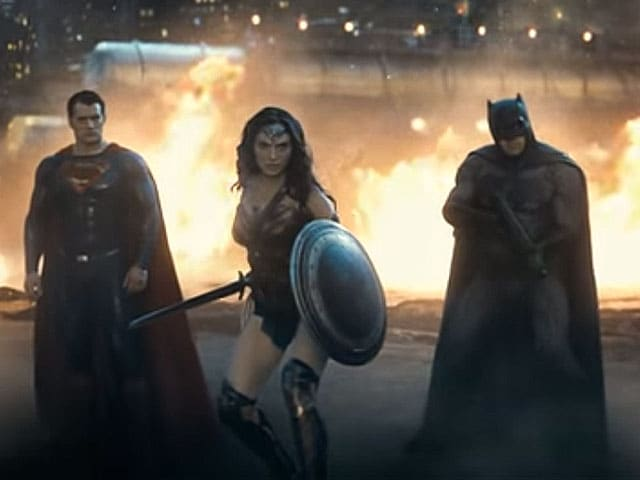 Batman v Superman Trailer 2 is Out. Who is Wonder Woman With?