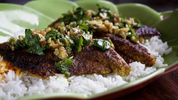 Dinner in 20 Minutes: Sumac-Grilled Fish