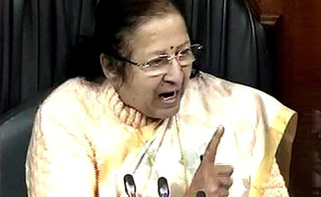 'Try To Run House Like A Mother,' Says Lok Sabha Speaker Sumitra Mahajan