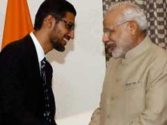 Google's Sundar Pichai To Meet Pranab Mukherjee, PM Modi During India Visit
