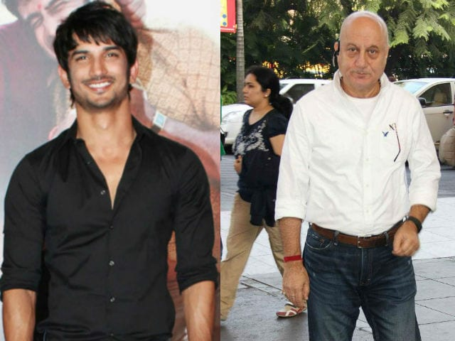 Anupam Kher Says Dhoni Co-Star Sushant Singh Rajput is 'Excellent'