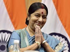 संयुक्त राष्ट्र में सुषमा स्वराज ने छह देशों के विदेश मंत्रियों के साथ की बैठक