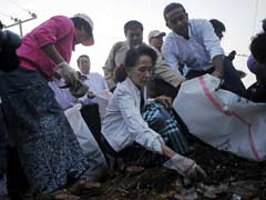Aung San Suu Kyi's Party Cleaning Up Myanmar - Literally