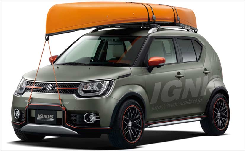 suzuki ignis water activity concept revealed ndtv carandbike. Black Bedroom Furniture Sets. Home Design Ideas