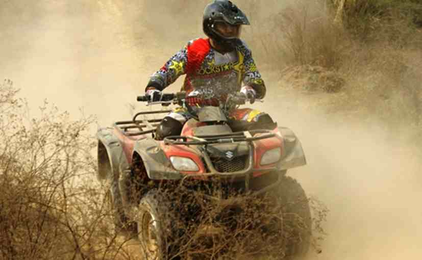 Suzuki Launches Its First Atv Range In India Prices Start At Rs