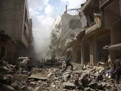 Displaced Syrians In Regime Heartland Pin Hopes On Russian Bombing