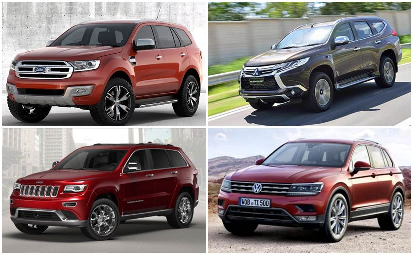 Ford Endeavour Honda Br V And Other Upcoming Suvs In India In