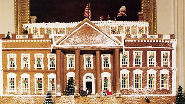 Sugar, Spice and Plenty of Icing: The Story of Gingerbread at the White House