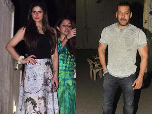 Here's Why Zarine Khan is 'Intimidated' By Salman