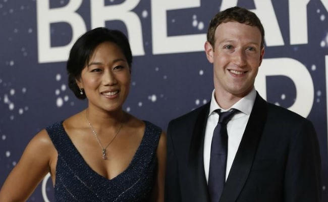 Facebook's Chief Mark Zuckerberg And Wife to Give 99 Percent