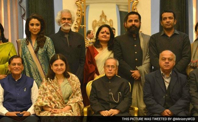 President Mukherjee Hosts Lunch For 100 Women Achievers