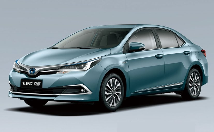 Toyota To Showcase Corolla Altis Hybrid At 2016 Auto Expo