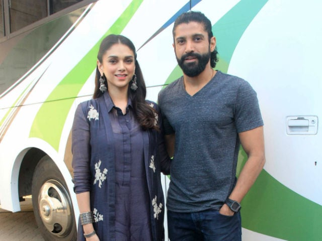 Aditi Rao Hydari 'Hopes' to Work With Farhan Akhtar Again