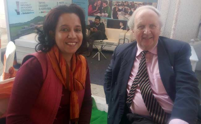 Searching For A Character, Author Alexander McCall Smith Lands In India