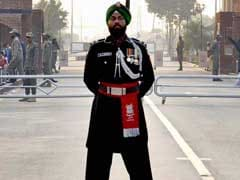 First Pakistani Sikh Ranger Shines At Wagah Border Ceremony