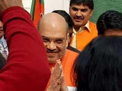 Amit Shah Is BJP President Again, Veterans Advani, Joshi Missing