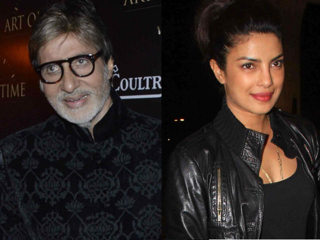 The Face of Incredible India: Amitabh Bachchan And Priyanka Chopra