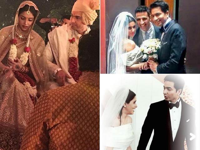 माइक्रोमैक्स के बॉस राहुल शर्मा संग परिणय सूत्र में बंध गईं असिन, देखें शादी की तस्वीरें