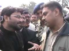 Union Minister Babul Supriyo Stopped By Police In West Bengal's Asansol