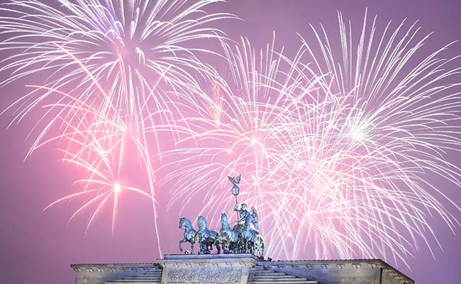 World Welcomes New Year Despite Terror Fears