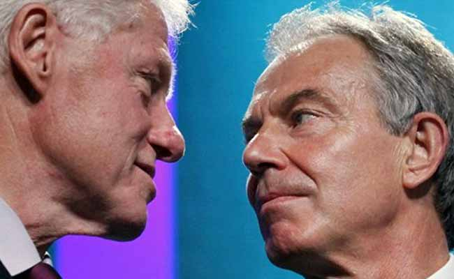 When Bill Clinton And Tony Blair Discussed 'Falling Star' Princess Diana