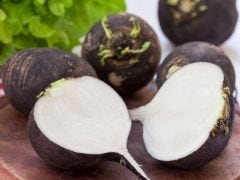 Who Knew Radishes Could Be Black, and Soothe A Cold?