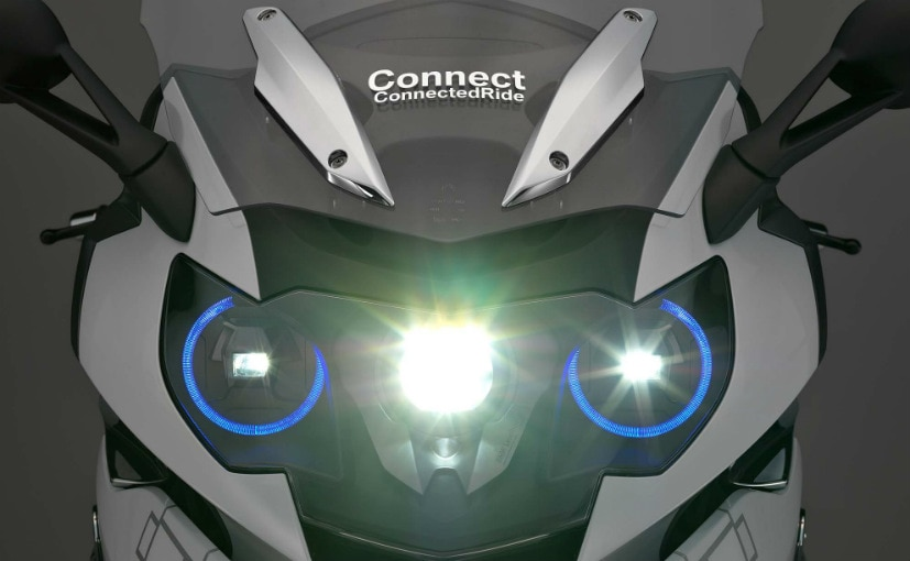 CES 2016: BMW Motorrad Reveals Laser Headlight for Motorcycles