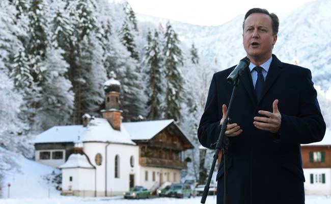 What's Good For Britain Is Good For Europe: David Cameron In Germany