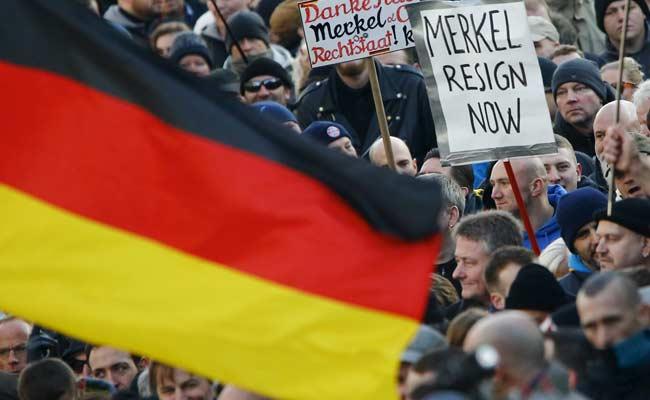 Angela Merkel Under Pressure As Germans Lash Out Against Foreigners