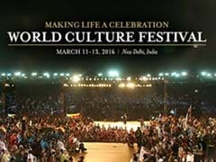 Delhi To Host World Culture Festival