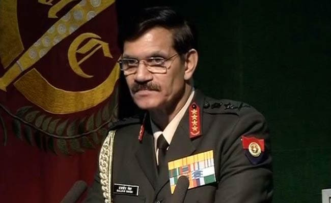 Army Chief General Dalbir Singh Suhag On Farewell Visit To Western Command