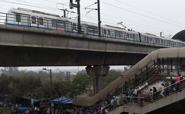 Hundreds Stranded In Delhi Metro After Bird Hits Electric Wire