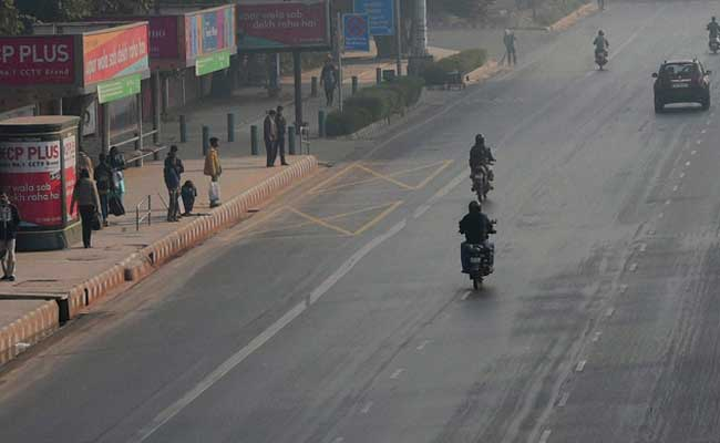 Streets, If Not The Air, Clear Out As Delhi Tests Car Restrictions
