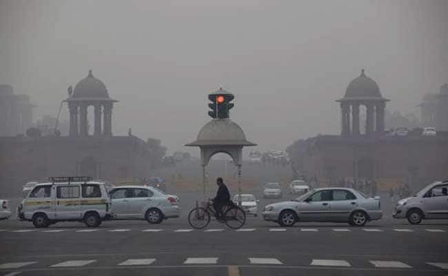 Misty Morning In The National Capital And Air Quality Regarded As