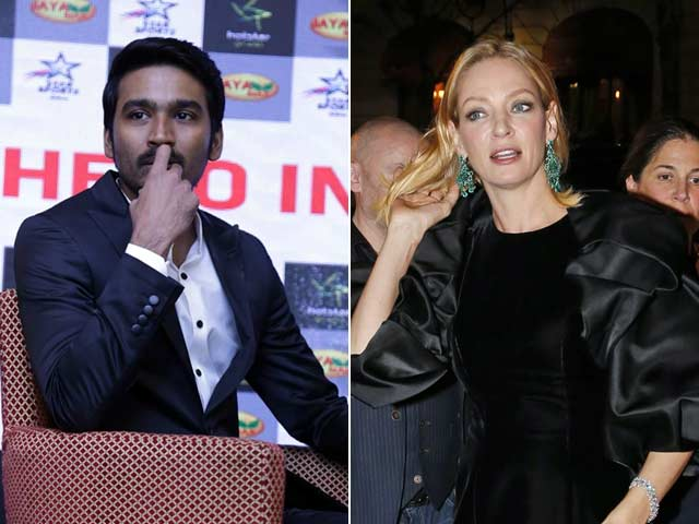 Dhanush is 'Excited' About 'Hollywood Debut' with Uma Thurman