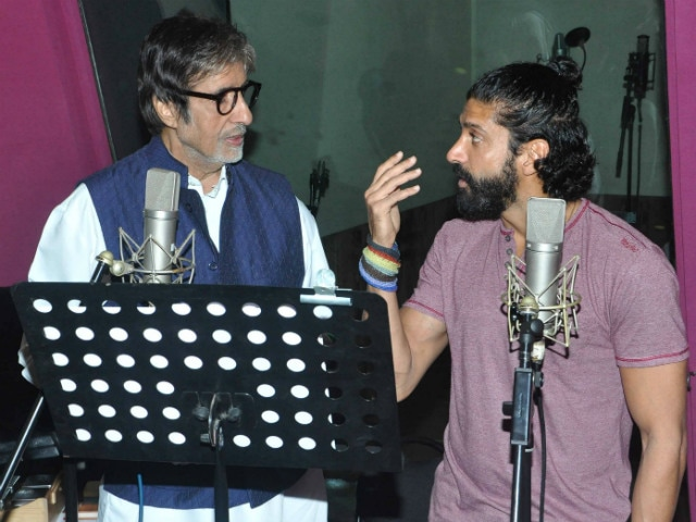 Farhan Akhtar Was 'Not Intimidated' to Work With Big B. Here's Why