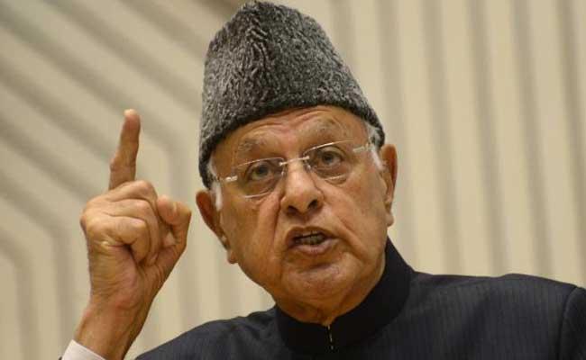 Pak-Occupied Kashmir Belongs To Pakistan, Says Farooq Abdullah
