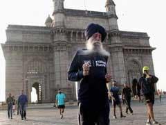 104 साल के मैराथन धावक फौजा सिंह को करेले हैं बेहद पसंद