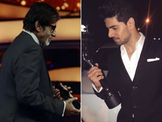 What Amitabh Bachchan, Sooraj Tweeted After Winning the Filmfare Award