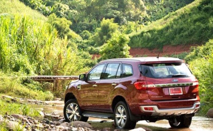 Ford Endeavour To Be Launched In India Today Ndtv Carandbike