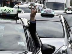 Cabbies Block Roads As France Hit By Multiple Strikes